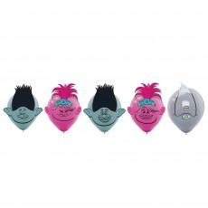 Trolls World Tour Decorating Kit Latex Balloons 30cm Pack of 6