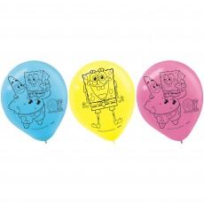 SpongeBob Latex Balloons