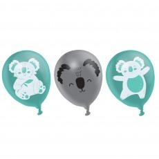 Koala Party Decorations - Latex Balloons