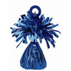 Blue Small Foil Balloon Weight