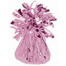 Pink Small Foil Balloon Weight