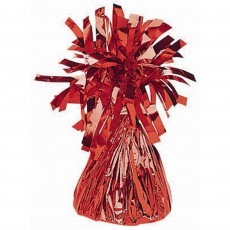 Red Small Foil Balloon Weight