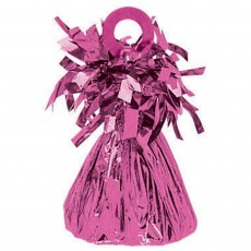 Bright Pink Small Foil Balloon Weight 170-180g