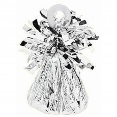 Silver Small Foil Balloon Weight
