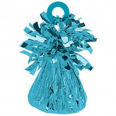 Blue Caribbean Small Foil Balloon Weight