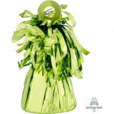 Green Lime Small Foil Balloon Weight