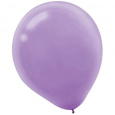 Lavender Party Decorations - Latex Balloons Lavender 30cm Pack of 72