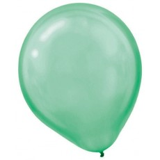 Green Pearl Festive  Latex Balloons