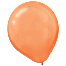 Orange Pearl  Peel  Latex Balloons