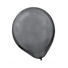 Black ii Latex Balloons 30cm Pack of 72