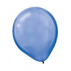 Blue Pearl Bright Royal  Latex Balloons