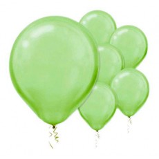 Green Pearl Kiwi  Latex Balloons
