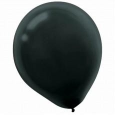Black Latex Balloons 30cm Pack of 15