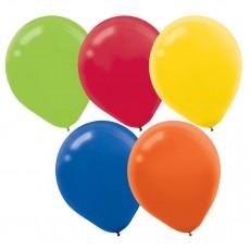 Multi Colour ed  Latex Balloons