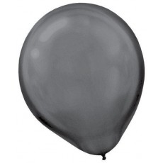 Black Pearl  Latex Balloons