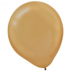 Gold Pearl  Latex Balloons