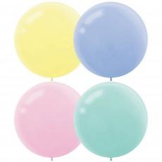 Multi Colour Pastel ed  Latex Balloons