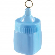 Baby Shower - General Blue Baby Bottle Balloon Weight