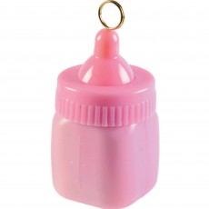 Baby Shower - General Pink Baby Bottle Balloon Weight