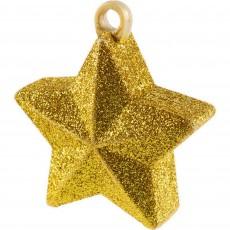 Star Gold Balloon Weight