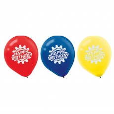 Transformers Latex Balloons