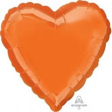 Orange Metallic Standard HX Shaped Balloon
