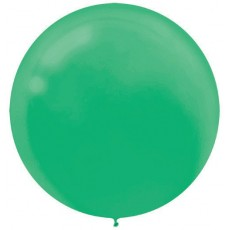Green Festive  Latex Balloons