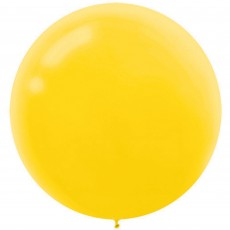 Yellow Sunshine  Latex Balloons