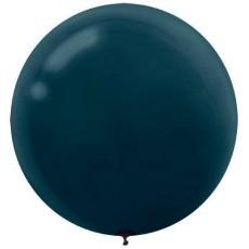 Black Latex Balloons 60cm Pack of 4