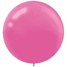 Pink Bright  Latex Balloons