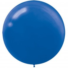 Blue Bright Royal  Latex Balloons