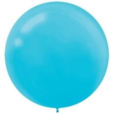 Blue Caribbean  Latex Balloons
