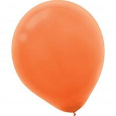 Teardrop Orange Peel Latex Balloons 12cm Pack of 50