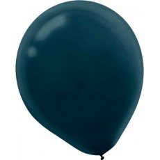 Black Latex Balloons 12cm Pack of 50