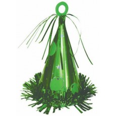 Green Party Hat Balloon Weight 170g