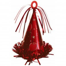 Red Party Hat Balloon Weight 170g