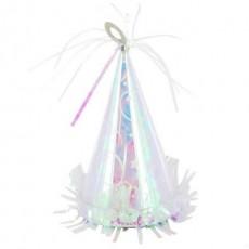 Iridescent Party Hat Balloon Weight 170g