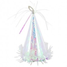 Iridescent Party Hat Balloon Weight