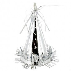 Silver Party Hat Balloon Weight