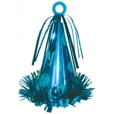 Caribbean Blue Party Hat Balloon Weight 170g