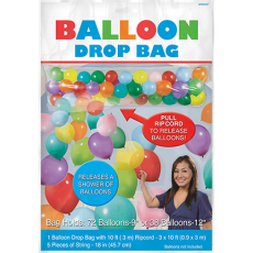Misc Occasion Balloon Release Drop Bag & Ripcord Balloon Equipment