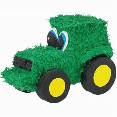 Green Tractor Pinata 37.47cm x 19.69cm x 26.04cm