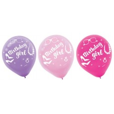Happy Birthday Balloons Latex Balloons