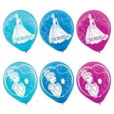 Cinderella Latex Balloons