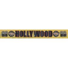 Hollywood Glitter Fringe Banner 3m x 29.2cm