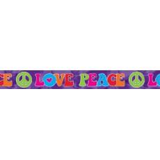 Feeling Groovy & 60's Foil Banner 762cm