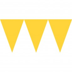 Yellow Sunshine Paper Pennant Banner