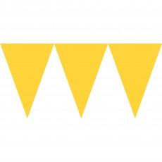 Yellow Sunshine Paper Pennant Banner