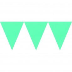 Green Kiwi Paper Pennant Banner