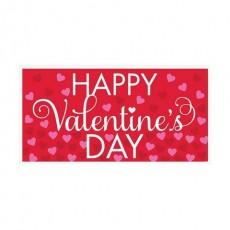 Valentine's Day Red  Banner